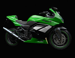 3D model Kawasaki Ninja 250R first-model-june