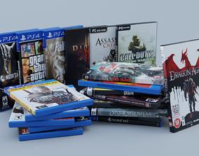 3D asset Vol1 DVD Pack of 20 PC PS4 Popular