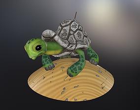 Rune turtle 3D model