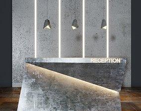 3D model Reception beton