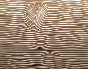3D model Panel Wave