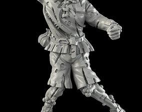 Medieval Zombie 3 3D print model