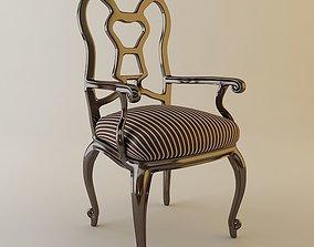 3D Elegant Armchair