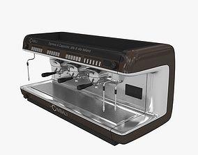 cimbali coffee machine 3D model