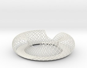 3D printable model Torus Fruit Bowl