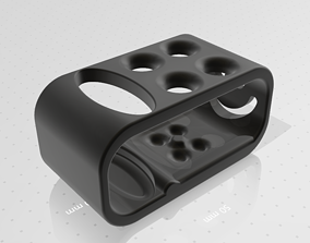 3D printable model sink Toothbrush Holder