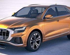 Audi Q8 2019 3D model allterrain