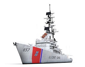 Coast Guard 3D asset