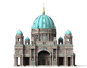 3D model Berlin Cathedral
