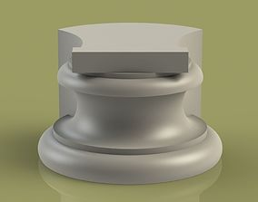 3D printable model architecture Marble Socle 04