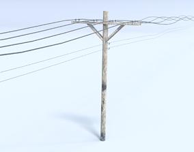 3D model Telephone Poll