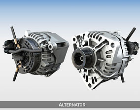 charge Alternator 3D