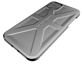 iPhone 11 Pro Max Case Raptor 3D print model