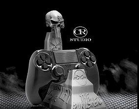 soprte control ps4 punisher 3D model