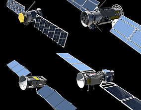 4 Satellites PLUS Build your own Satellite kit 3D model