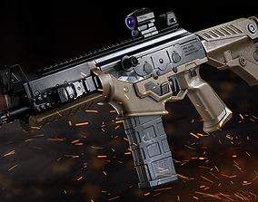 3D asset PMS naoK56 Assault Rifle - Model and Textures
