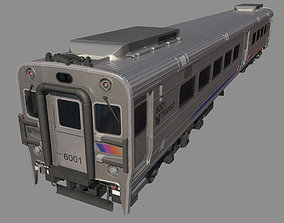 3D NJ Transit Alstom Comet V Train