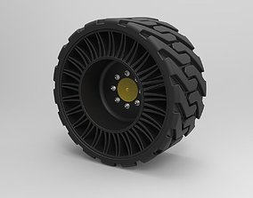 3D Twheel from Front loader