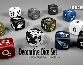 Creative Dice Set 3D model