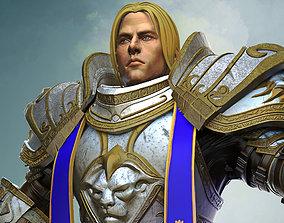 3D print model Fan Art - Anduin Wrynn - World of Warcraft