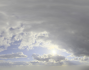 3D Skydome HDRI - Storm Clouds