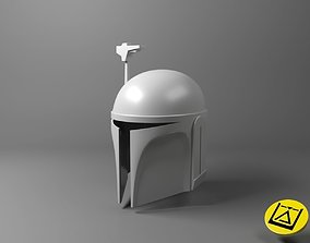 3D print model Death Watch Mandalorian helmet - Star 1