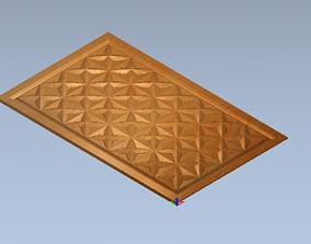 hinged 3D model doorway
