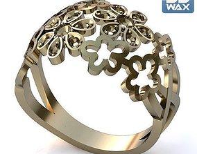model Ring flower m3 3D printable model