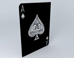 3D Ace of Spades