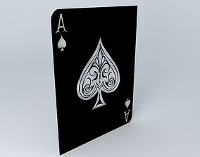 3D Ace of Spades
