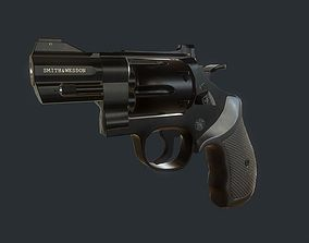 3D model Smith and Wesson 329 Revolver