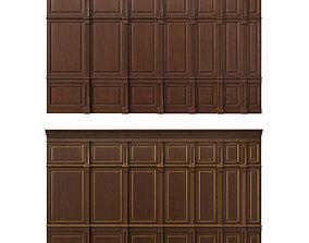 3D Wooden panel 01