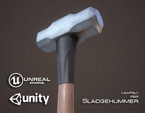 Sledgehammer 3D model realtime