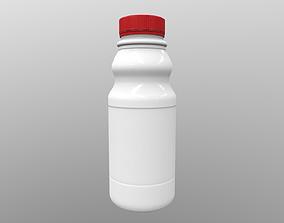 Bottle Milk V2 3D asset realtime