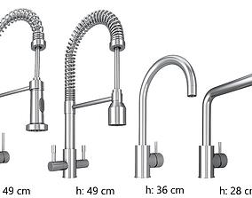 3D model water faucet combination