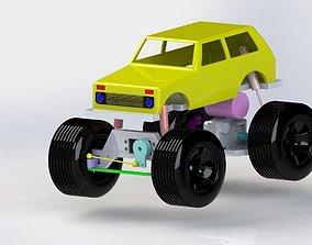 3D Toy car body VAZ 2121 NIVA