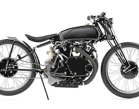 3D Jeff Decker 1952 Vincent Black Lightning