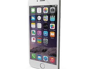 3D asset Apple iPhone 6s Plus Silver