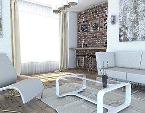 Living room Audrius 3D model