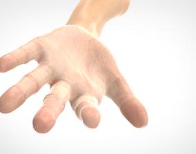 Hand 3D model realistic