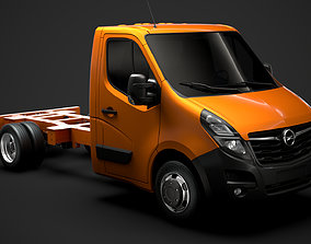 3D Opel Movano SingleCab DW E20 Chassis 2020