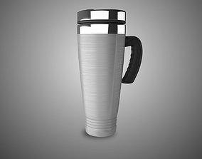3D asset Car stainless steel mug