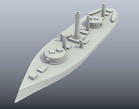 Brazilian Ironclad Silvado 3D print model