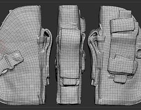 Gun Holster 3D model low-poly