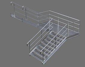 Stair 1D 3D asset