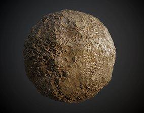 Ground Dirt Mud Soil Grass Tire Track Seamless PBR 3D