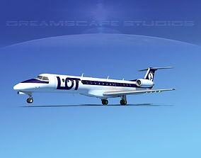 Embraer ERJ-145 LOT 3D