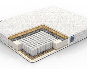 3D bed headboard Mattress