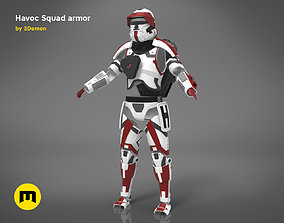 Havoc Squad armor 3D printable model
