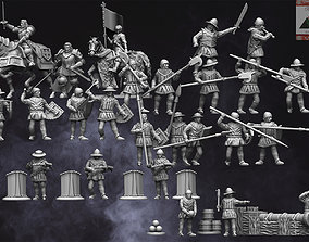 28mm Medieval Hundred Years War 3D print model
